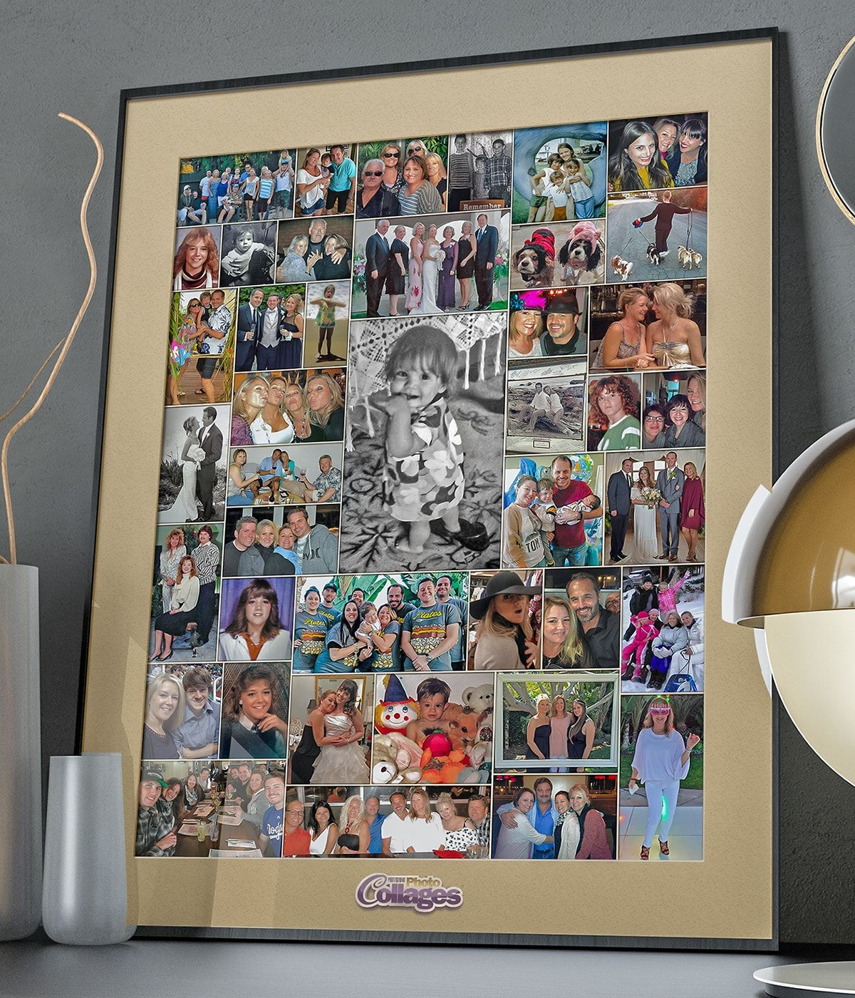 This Is The Perfect Gift For Sister That Has Everything Using Color And Black White Pictures Birthday Bordered Collage Was A Total Hit At