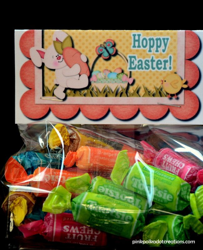 """Today I have another fun bag topper. This one for Easter is perfectfor Visiting Teaching, class handouts, activity days, teacher treats, Easter Egg Hunts, a fun thank you treat, or just to make someone smile! Give these to all of your little """"Easter Bunnies"""".I love the fun, bright colors in these fold over toppers. They … Continue reading Easter Bag Topper →"""