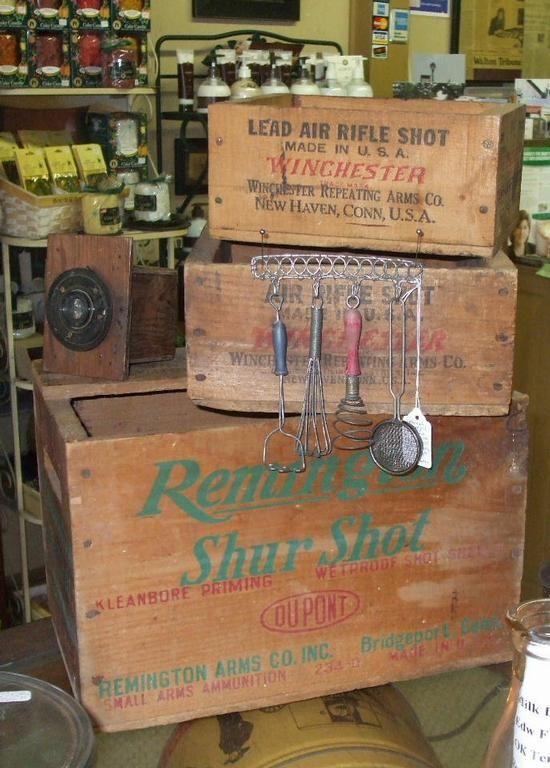 Old Wooden Ammo Boxes Description Antique Remington And
