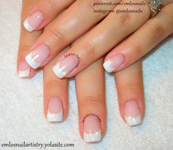 white nail tips 2015 - google