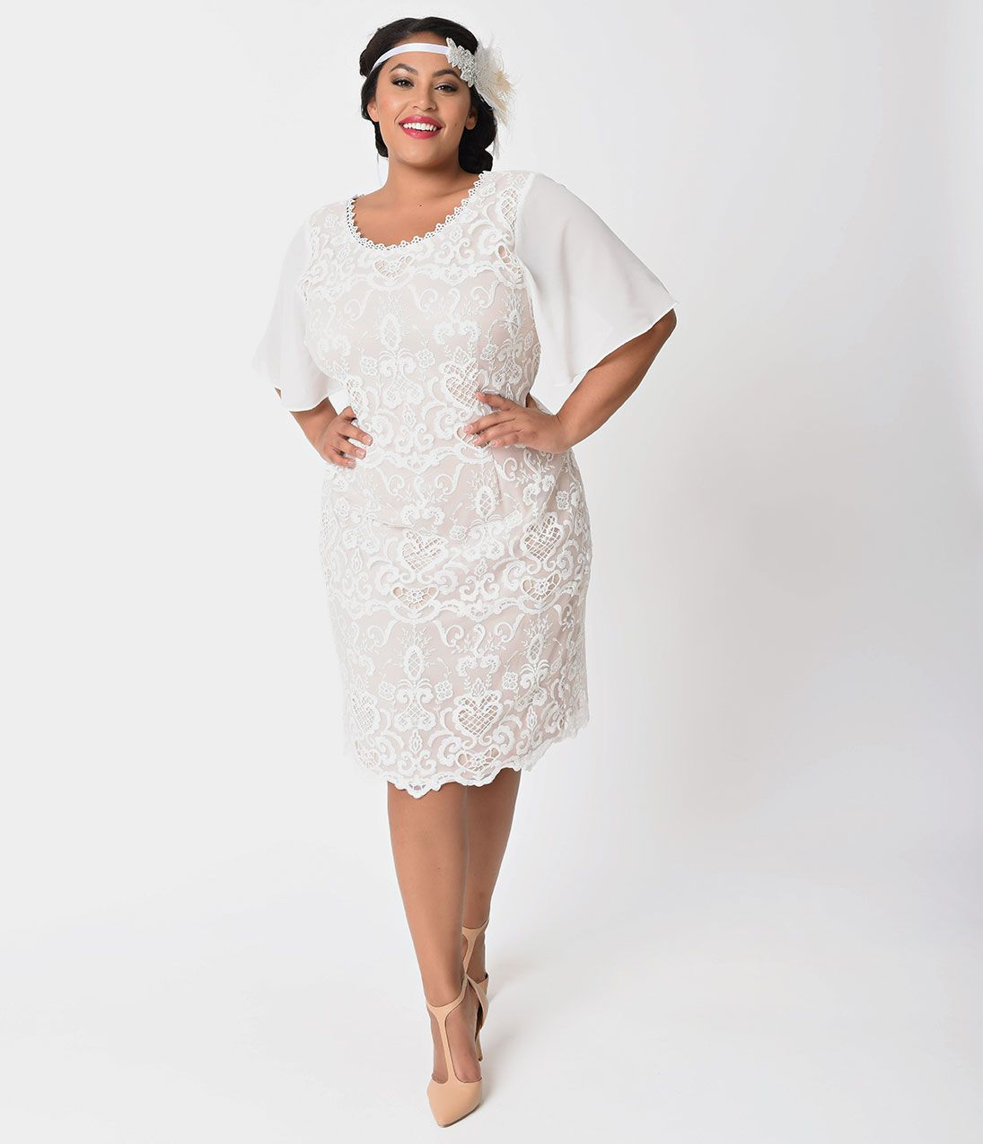 1920s Plus Size Flapper Dresses Gatsby Dresses Flapper Costumes Plus Wedding Dresses Plus Size Flapper Dress Wedding Dresses Plus Size [ 1275 x 1095 Pixel ]