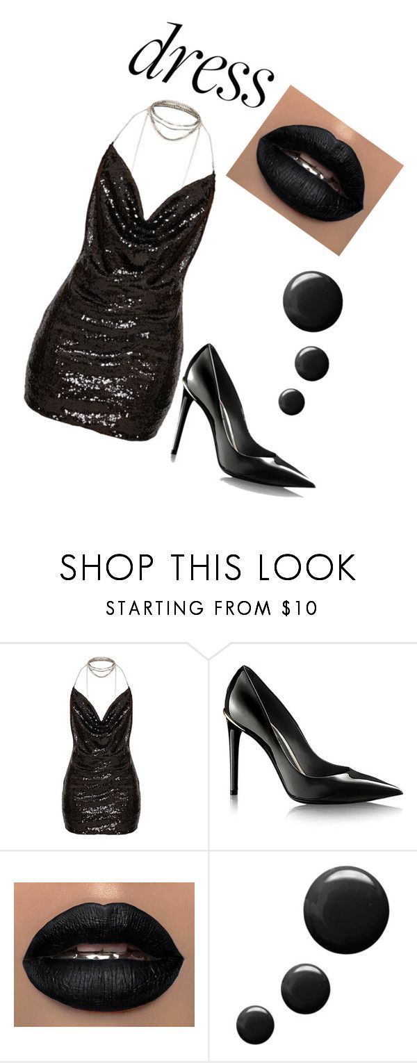 """""""choker dress"""" by katarina231354 ❤ liked on Polyvore featuring Topshop"""