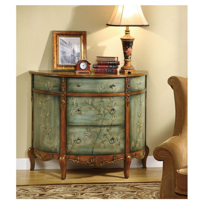 Best Dutton Console Chest Painting Wooden Furniture Coaster 400 x 300