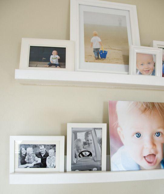 diy frame ledges