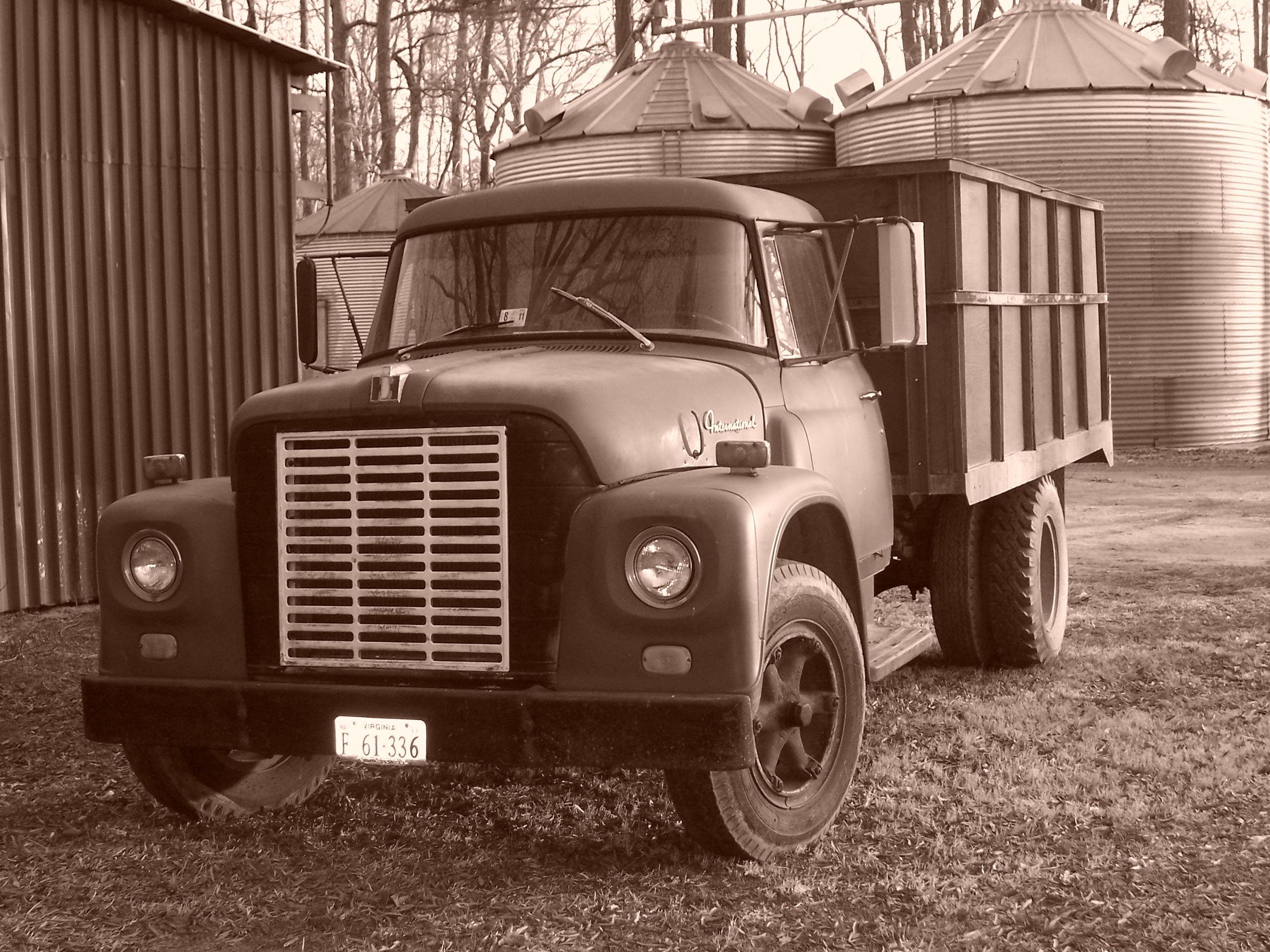 Old International farm truck from my husband\'s family farm...Taken ...