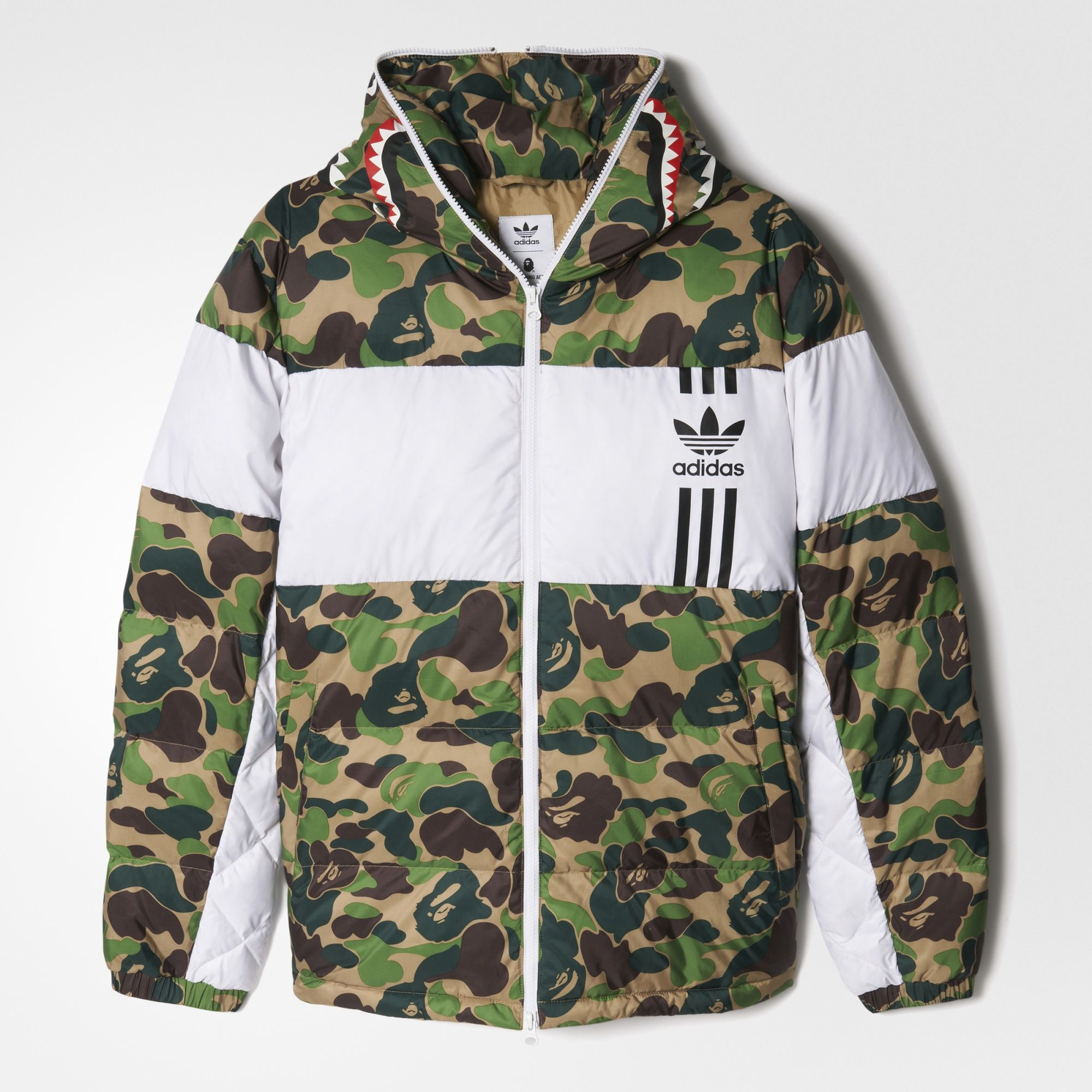 adidas id96 down jacket bape shoes and outfits. Black Bedroom Furniture Sets. Home Design Ideas