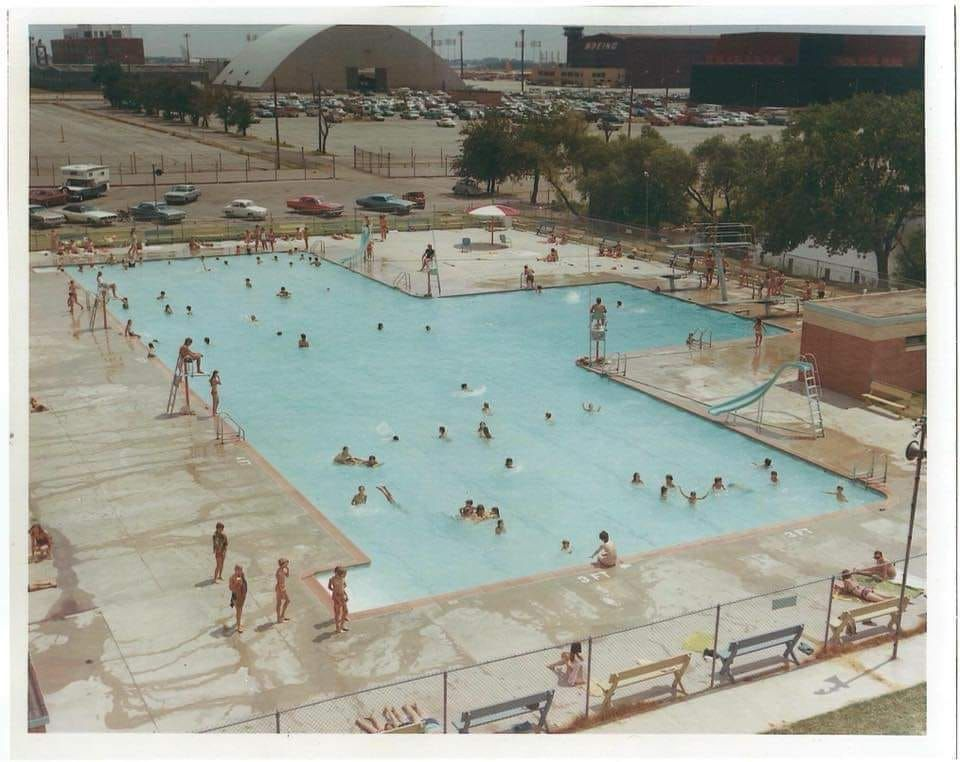 The Boeing Pool In Wichita They Had The Best Snack Bar This