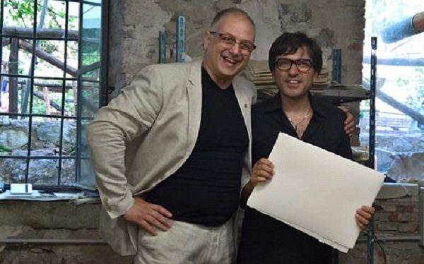 Fabriano  Sandro Tiberi il Best Wwworkers 2016 con Dario Ballantini  le foto Sandro Tib https://t.co/EpY6tgV9r6 https://t.co/pjH3sXdC7U