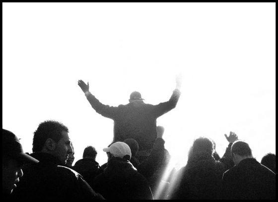 Vitesse supporters.