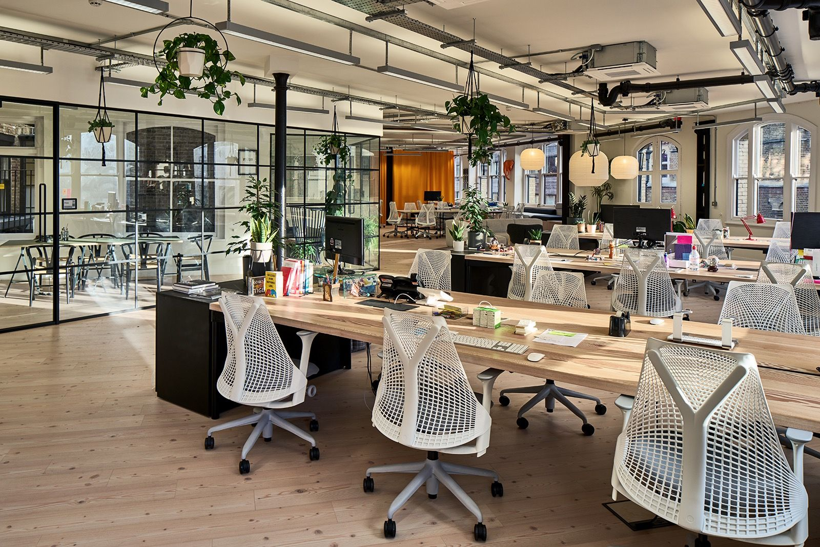 Inside adaptive lab s cool london office industrial for Product design consultancy london