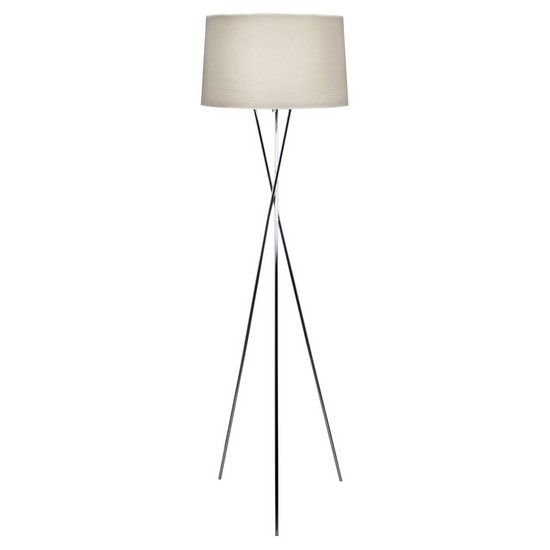 Tripod floor lamp dunelm like this as has metal legs not too much clashing