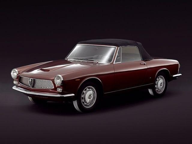 1962 Alfa Romeo 2600 Spider Speciale 106 By Ghia Alfa Romeo