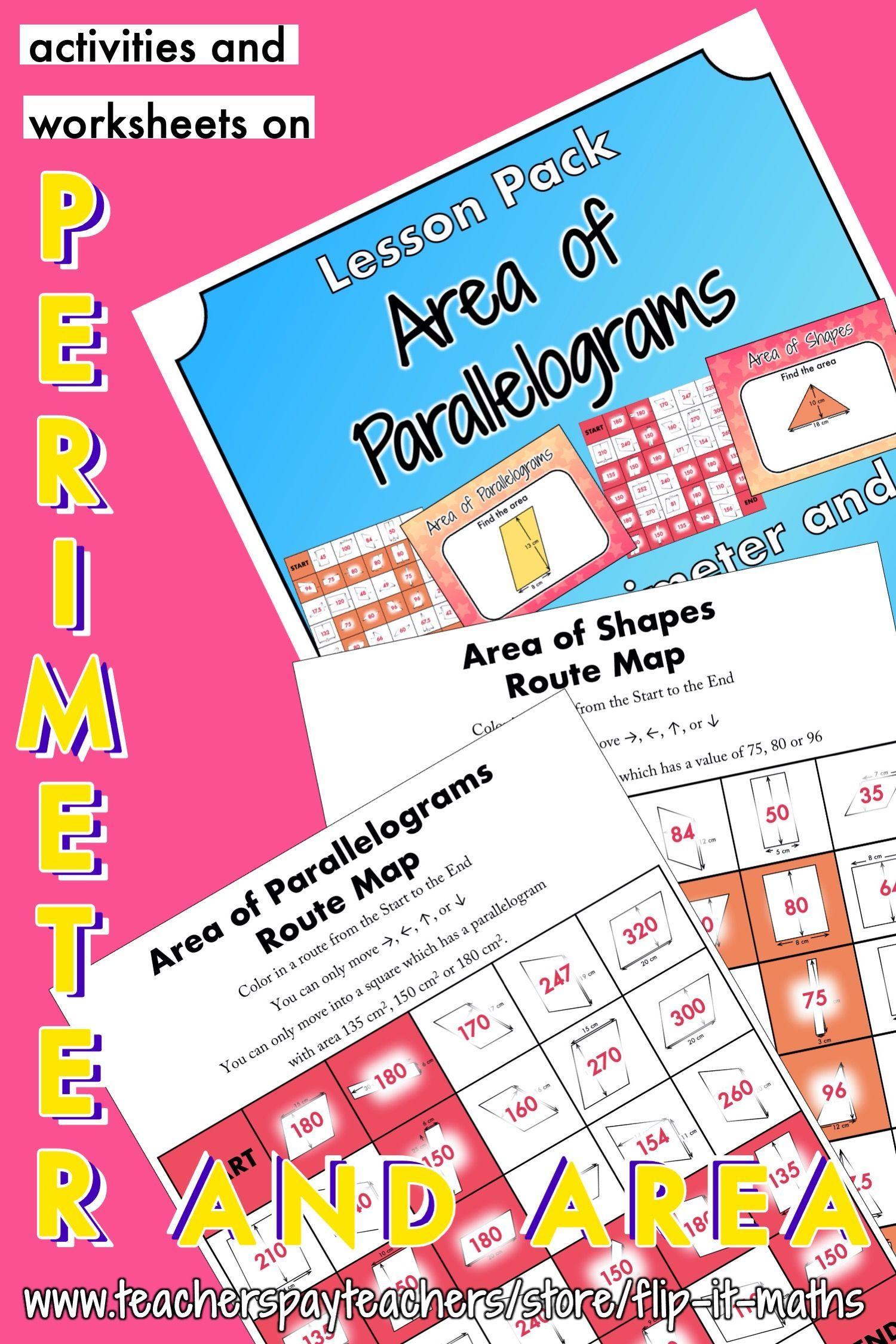 13 Area Of Parallelogram Worksheet Alphabet Worksheets
