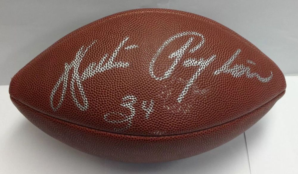 50ded988c3f WALTER PAYTON AUTOGRAPH FOOTBALL Collectible Memorabilia Signed By HOF  Player (eBay Link) Walter Payton
