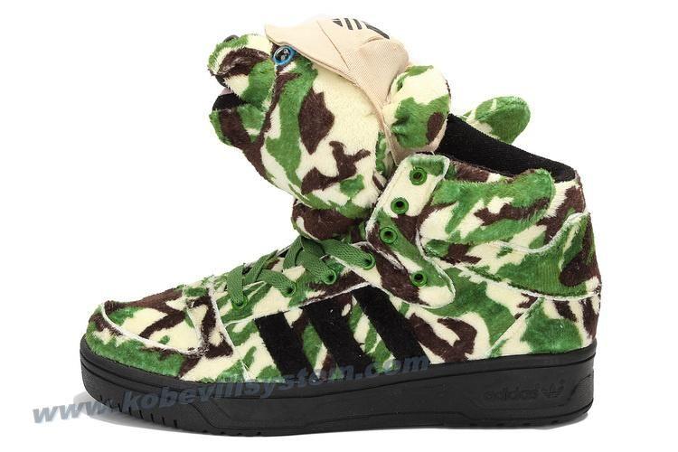 Adidas X Jeremy Scott Camo Bear Shoes For Sale  140b8ef8f076