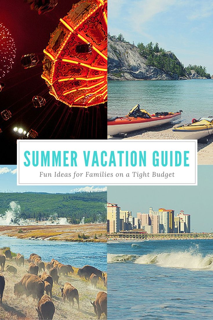 8 Summer Vacation Ideas For A Family On A Tight Budget