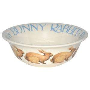 Happiness is a Bunny Cereal Bowl 2012 (Discontinued)