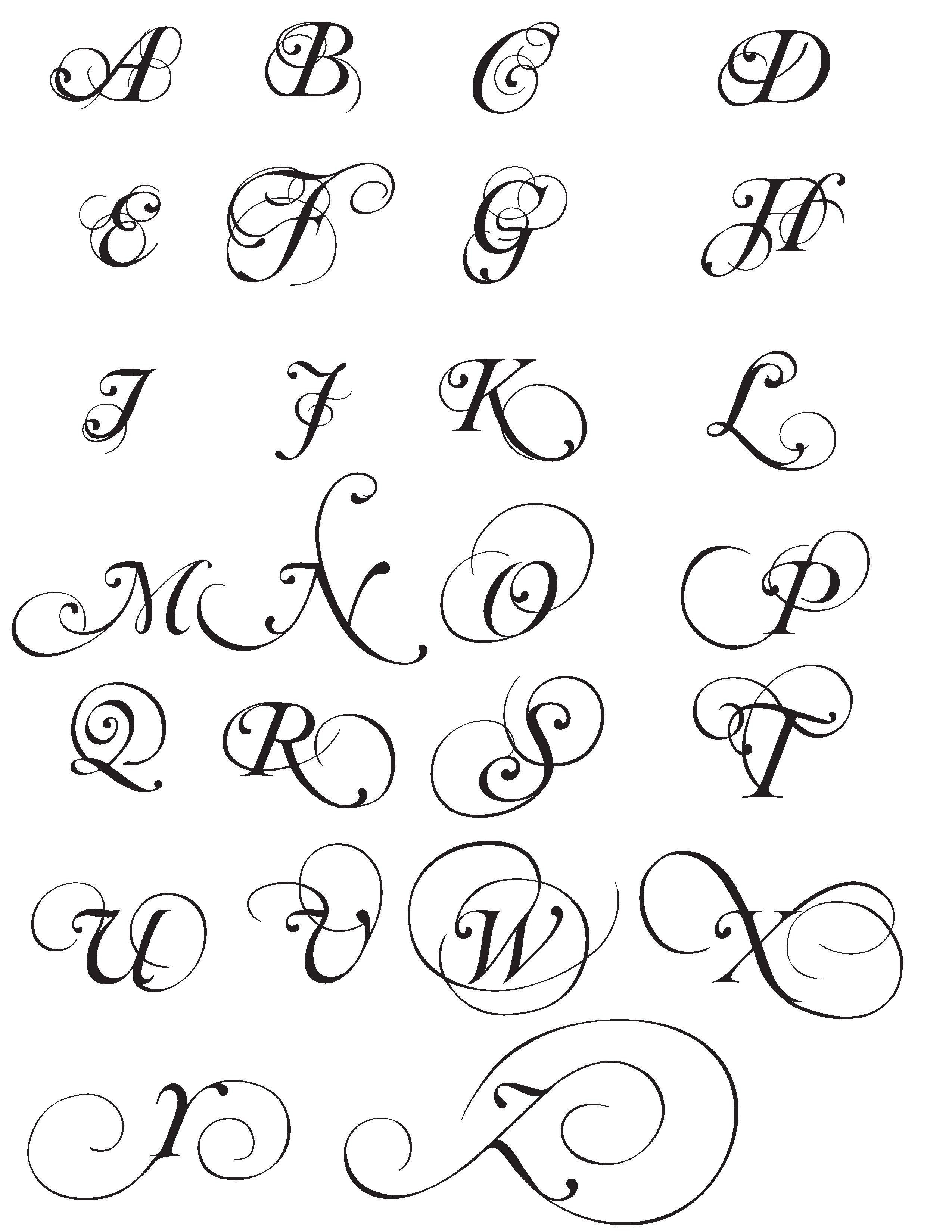 Mutlu Ornamental Font Hand Lettering Worksheet Lettering Alphabet Script Alphabet