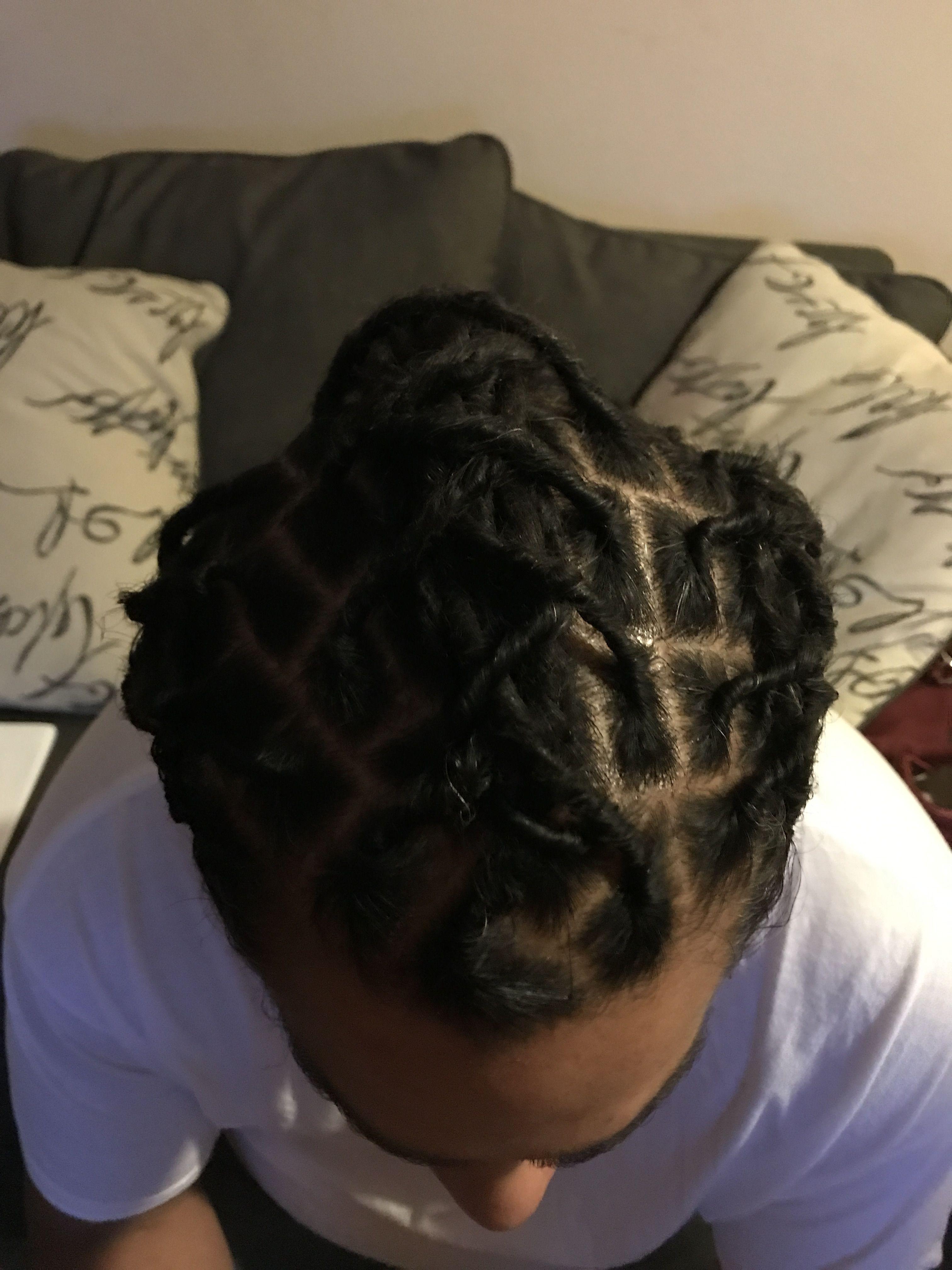 Just got my locks braided locs twists n braids pinterest locs