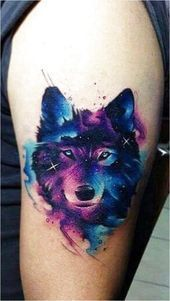 Watercolor Wolf Tattoo Ideas  Click to see more  Watercolor Wolf Tattoo Ideas  Click to see more Watercolor Wolf