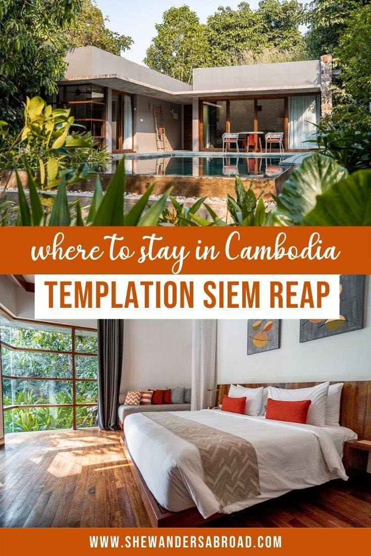 If you're looking for the best luxurious hotel in Siem Reap, Cambodia, you need to check out Templation Siem Reap! Here's my honest review about the hotel. #cambodia #siemreap #hotelreview #shewandersabroad | Where to stay in Cambodia | Best hotels in Siem Reap | Best hotels in Cambodia | Luxurios hotel in Cambodia | Closest hotel to Angkor Wat | Where to stay near Angkor Wat | Best places to stay in Cambodia | Cambodia Hotel Recommendation | Cambodia Hotel Review