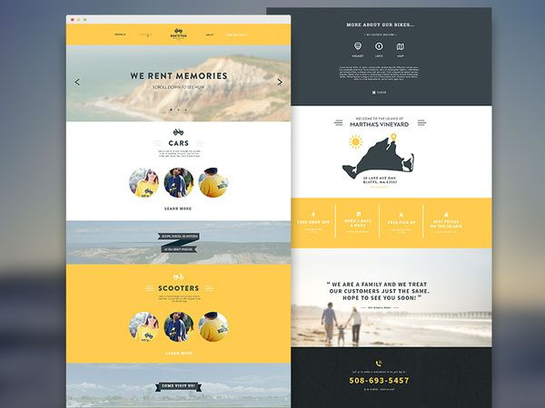 Light Small Amount Of Blur For Text Overlay Responsive Web Design Inspiration Web Layout Design Website Layout Inspiration