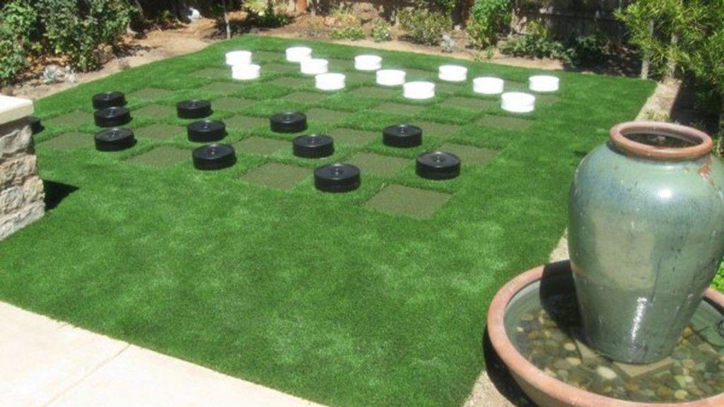 lawn-checkers-artificial-grass-synlawn-central-california BACKYARD