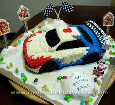 3D Hot Wheels Car Cake on Cake Central Cakes Pinterest Hot