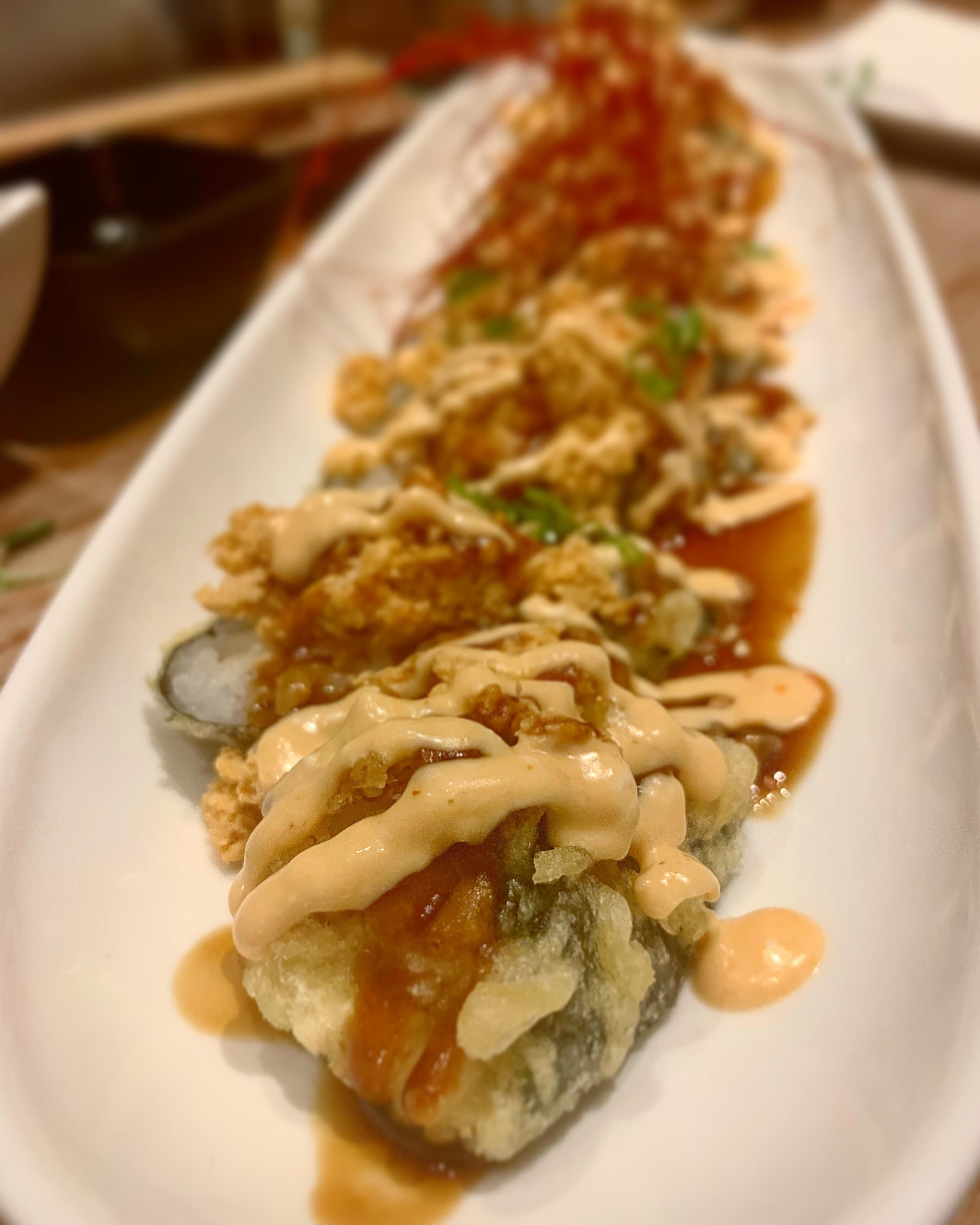 The Boddy And Soul Roll At Shizen Vegan Sushi In San Fran