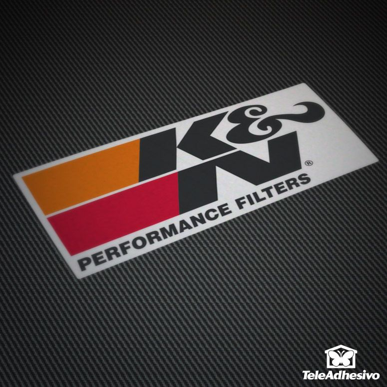 Pegatina K&N Peformance Filters