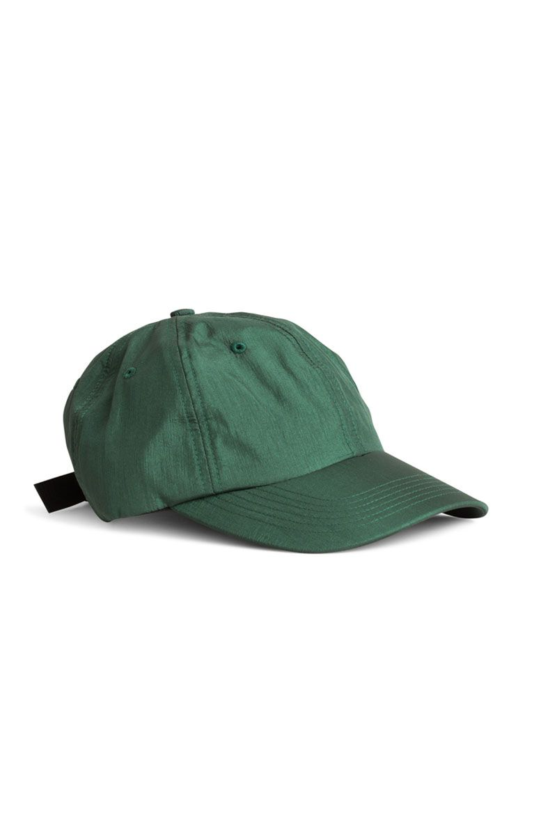 The Norse Projects Nylon Sports Cap Forest Green is a classic sports cap  made from a soft 100% high gloss nylon fabric - Strap adjustment - Shop  Norse ... 592d666669ee