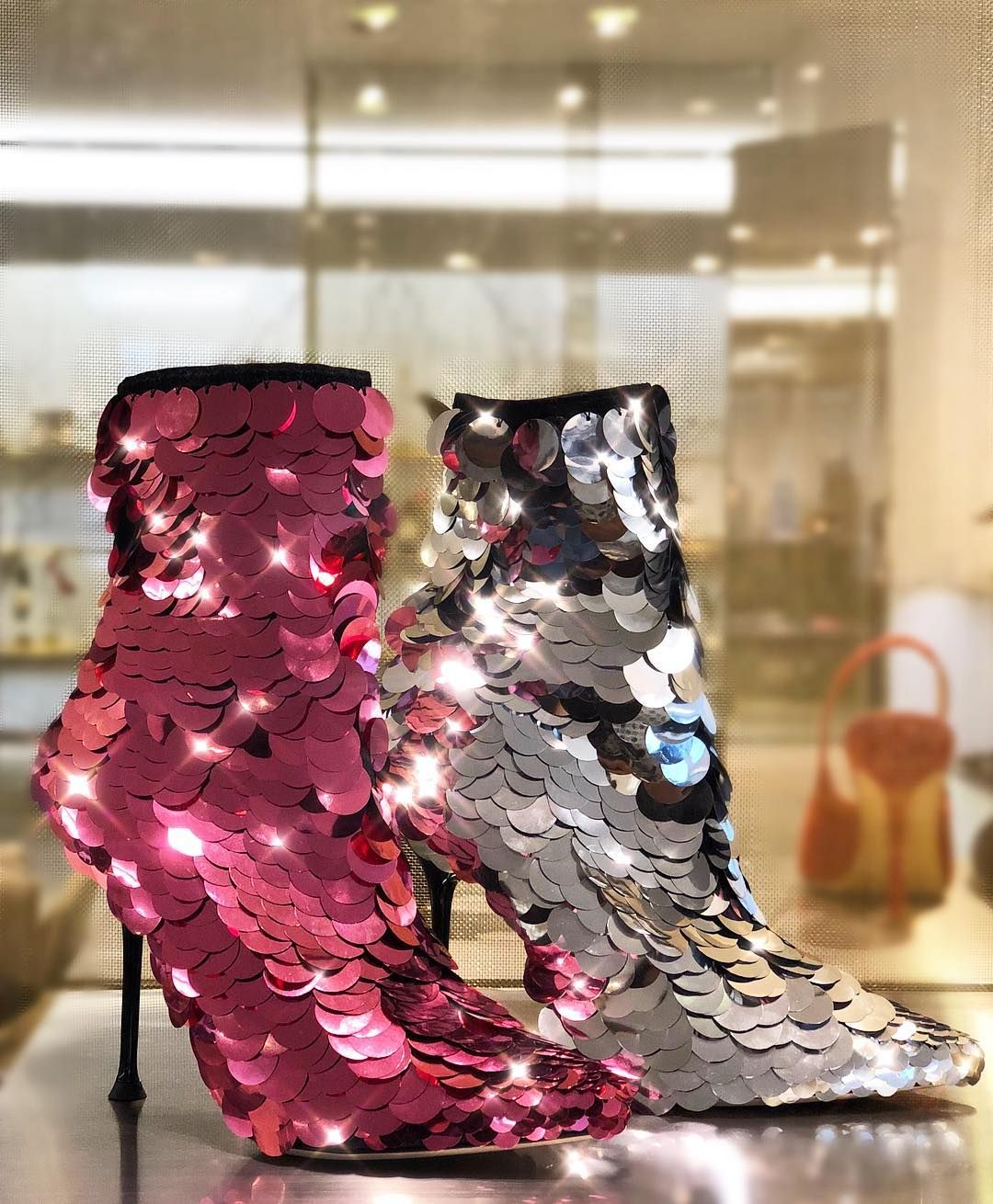 2464b8e78fd Major disco vibes with these stunning boots from Sergio Rossi ...