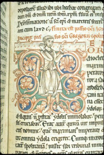Harley 2802   f. 190   Historiated initial