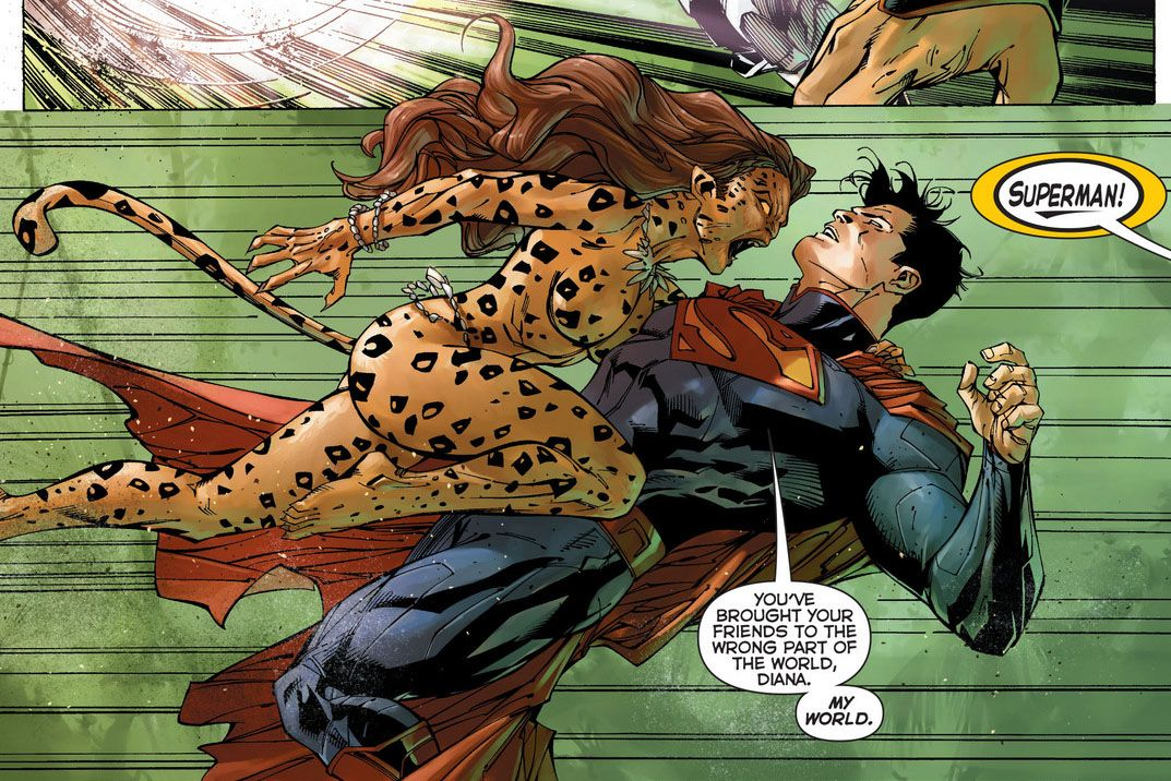 Cheetah vs Superman | Cheetah dc, Wonder woman vs cheetah, Justice ...