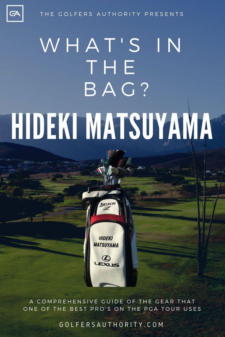 Hideki Matsuyama WITB? (What's in the Bag)   Golf tips. Matsuyama. Golf tips for beginners