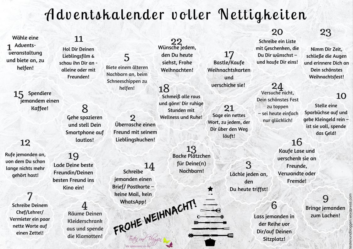 Wordpress Com Adventkalender Adventskalender Adventskalender Zum Ausdrucken