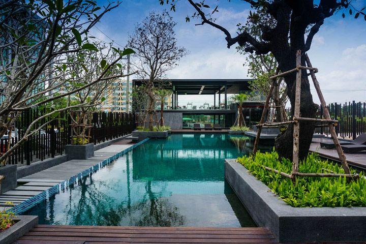 Retail Design Blog Modern Landscape Design Modern Landscaping Pool Landscape Design