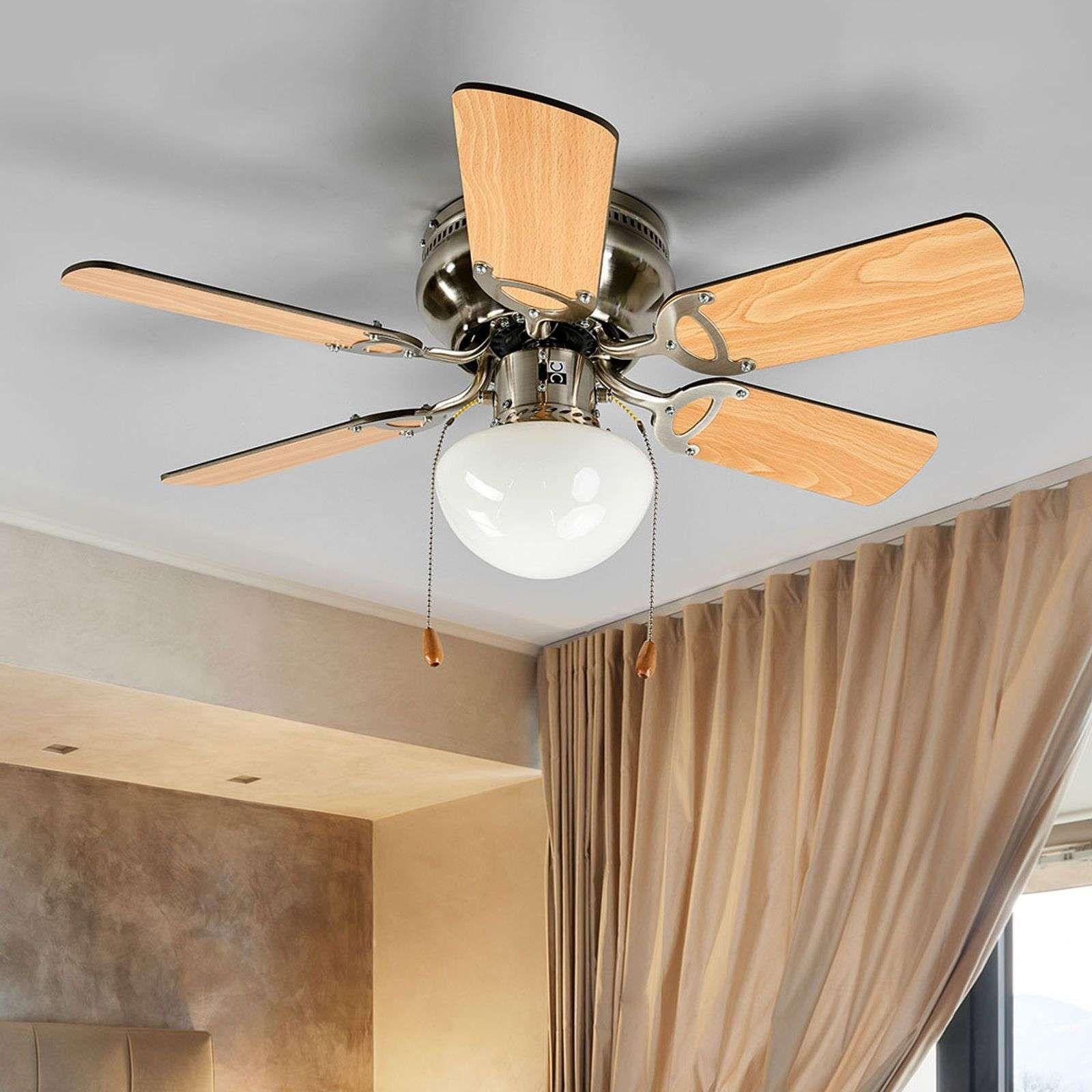Moderner Deckenventilatoren Mit Beleuchtung Von Lampenwelt Com Braun Deckenventilator Ventilator Und Beleuchtung