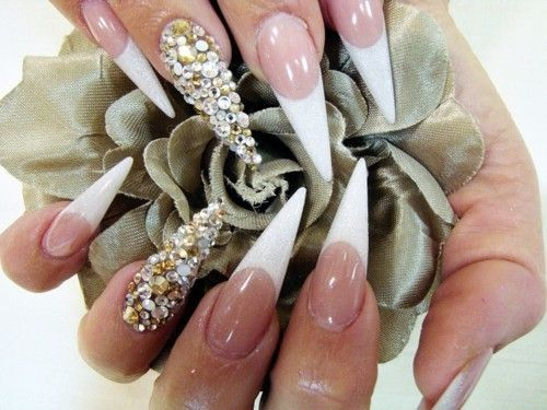 35 Best Diamond Nail Art Ideas 2014 | Nail Design Ideaz - 35 Best Diamond Nail Art Ideas 2014 Nail Design Ideaz I Love