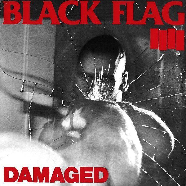 Black Flag Damaged Lp Vinili Dischi In Vinile Vinile