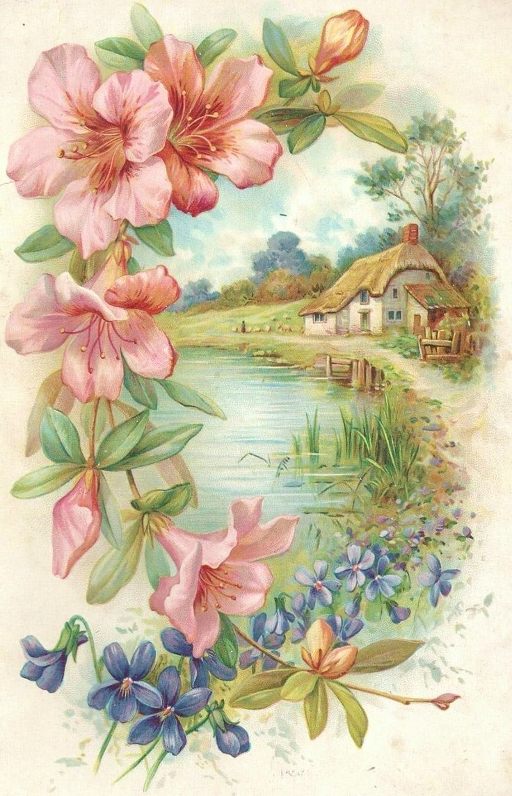 Pin by sooa on 그림 pinterest cottage living english cottages