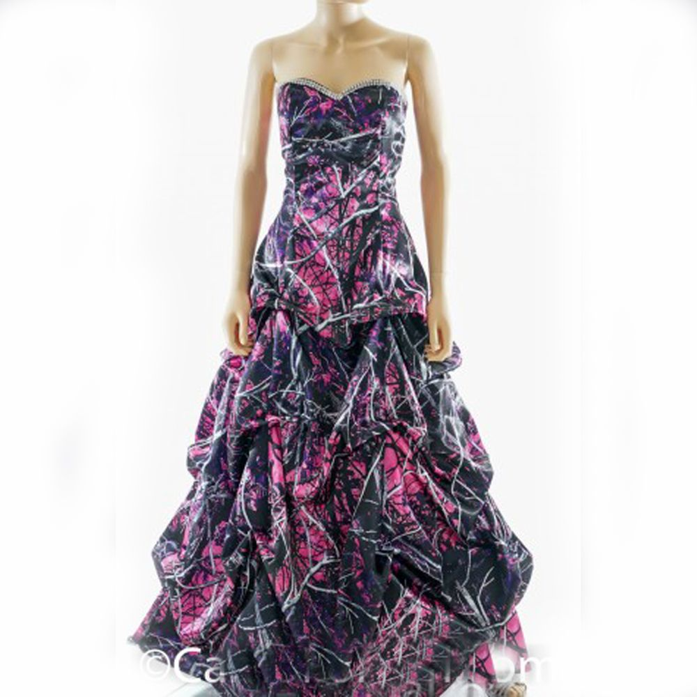 Muddy girl camouflage wedding party dresses muddy girl camouflage muddy girl camouflage wedding party dresses ombrellifo Images