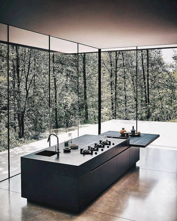 70+ Stunning Minimalist Kitchen Design Trends -  70+ Stunning Minimalist Kitchen Design Trends #kitchendesign #kitchenideas #kitchenremodel  - #design #DesignRoom #HouseDesign #kitchen #minimalist #SmallRoomDesign #stunning #trends