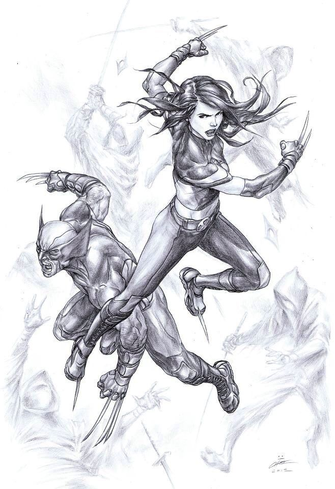 Wolverine & X-23. | Marvel universe | Pinterest