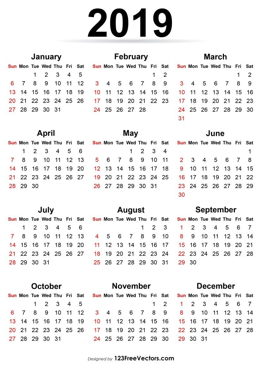 It's just an image of Lively Free Printable Calendars 2020 2020