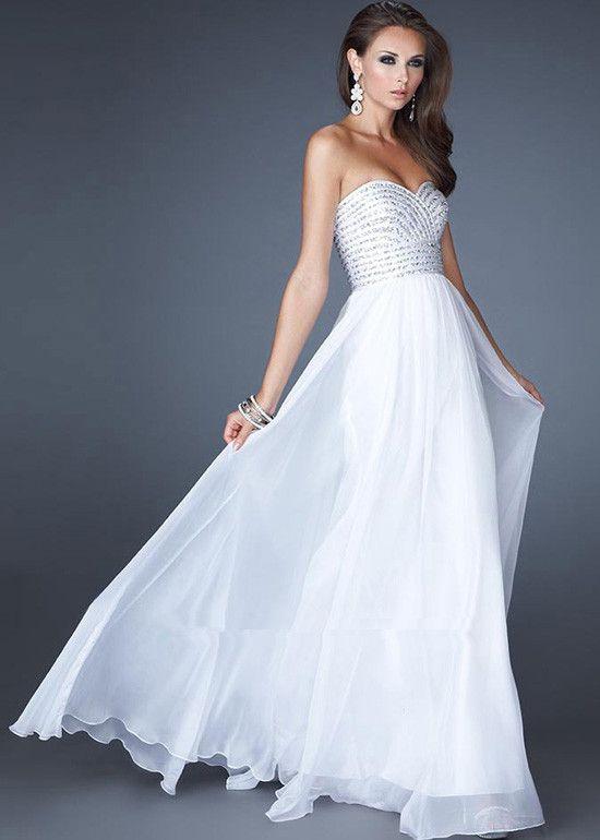 hemsandsleeves.com cheap white dresses (19) #cutedresses | Dresses ...