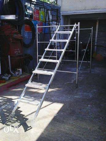 Scaffolding Ladder For Sale In Manila Metro Manila Ncr Olx Ph Scaffolding Materials Scaffold Ladder Scaffolding