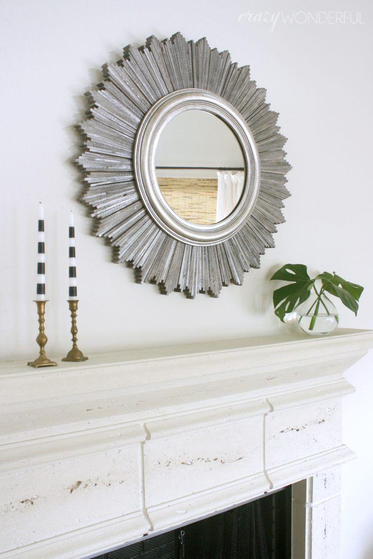 Texas House Sunburst Mirror Mirror Design Wall Antique