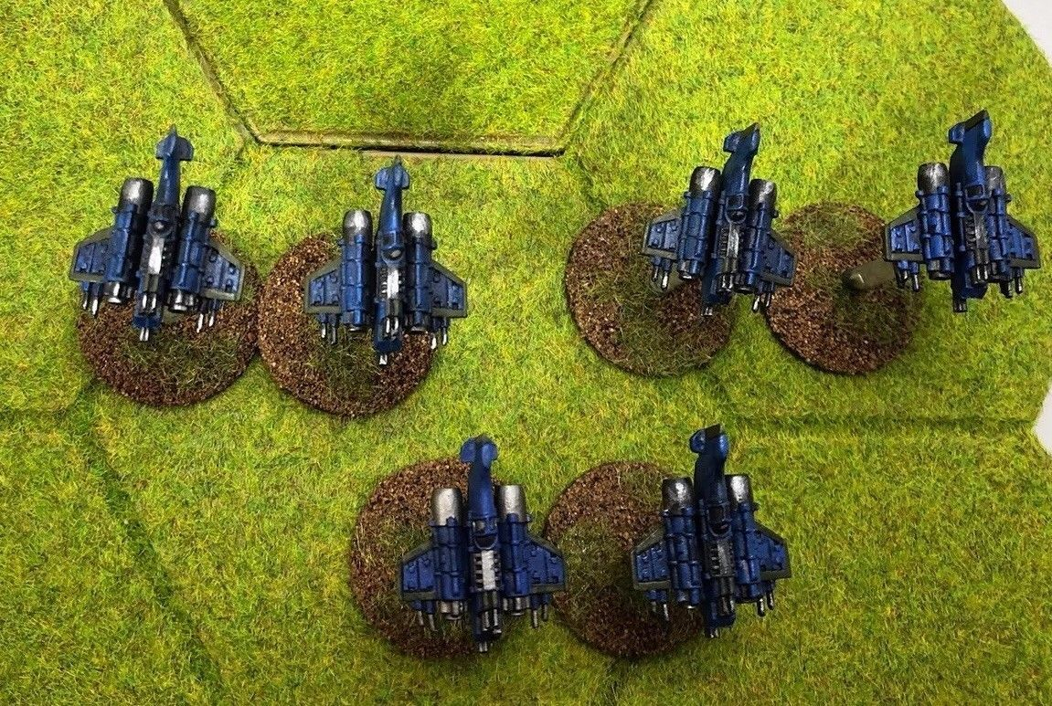 Epic 40k Space Marine Imperial Guard Thunderbolt Fighters GW
