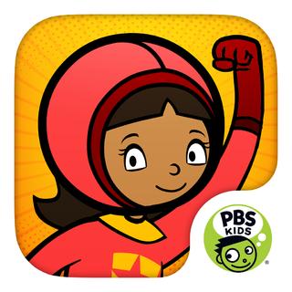 WordGirl Superhero Training PBS Kids iPad, Nook